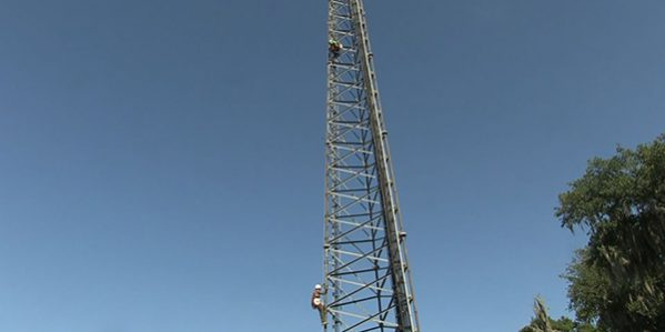 Student Performing Competency Climb