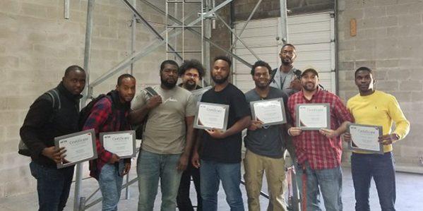 Student Tower Graduation Group Photo