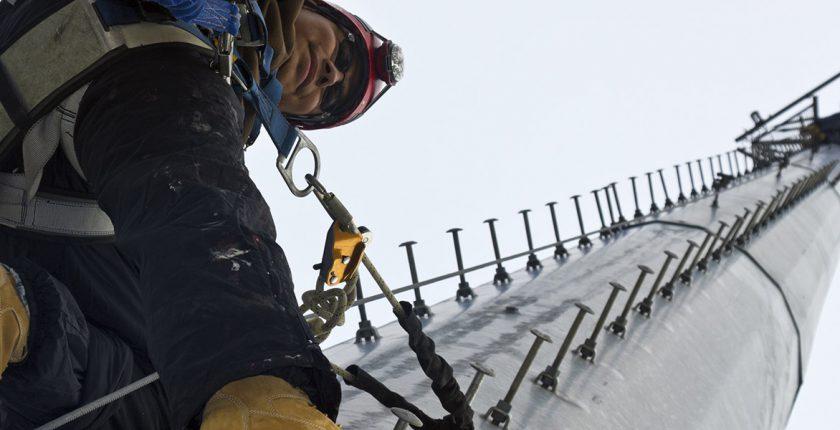 Tower Climber Climbing Tower