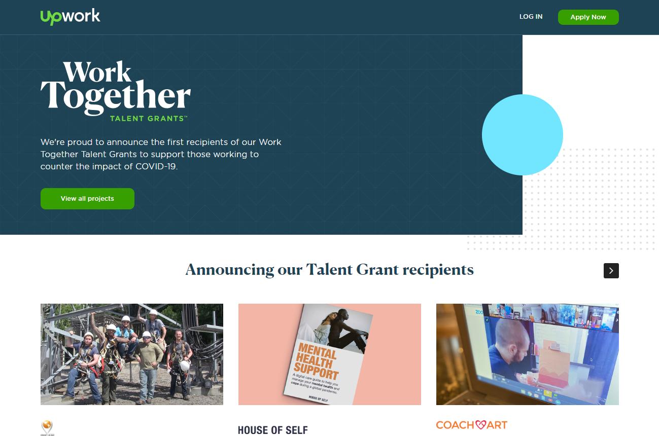 Work Together Talent Grant